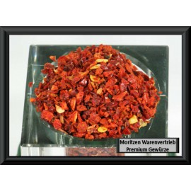 Paprika geschrotet 1-3 mm, rot, 1 Kg