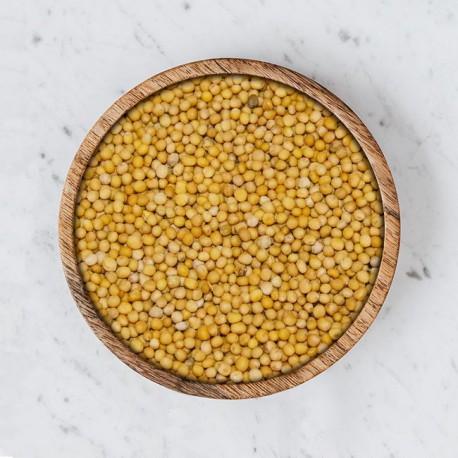 Senfsaat gelb, ganz, 1 Kg