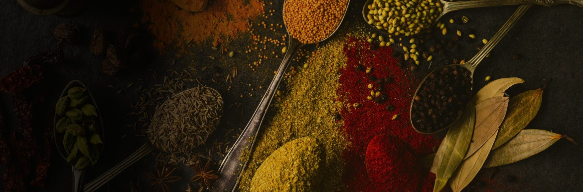 Our spice assortment has everything you need. From A for anise to Z for onion powder.